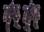 Federation Marauders M14 Dingo Command Type Render by larrynguyen0096