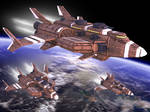 Federation Heavy Corvette Mitchell