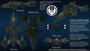 Terran Federation Destroyer Methuselah Overview