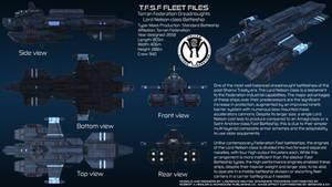Terran Federation Battleship Lord Nelson Overview