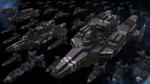 Terran Federation Saint-class Fast Battleships