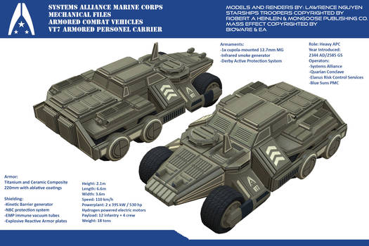 Systems Alliance VT7 Armored Personnel Carrier