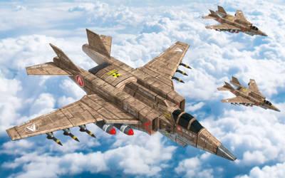 The Alliance's Valkyrie: F-79H Sigrun/SX-3 Finback by larrynguyen0096