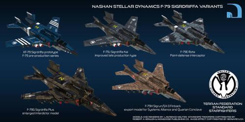 Nashan Stellar Dynamics F-79 Sigrdriffa Variants by larrynguyen0096