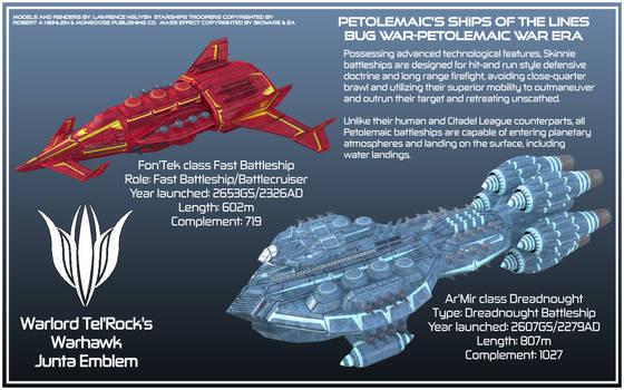Starship Troopers Skinnie Battleship Concepts