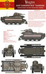 Valkyria Chronicles 1920+ Rus' Light Tank Profile