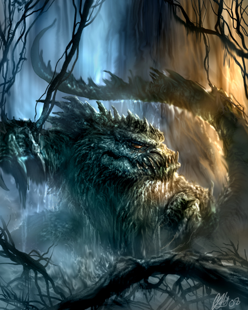 Swamp Beast by chrisscalf