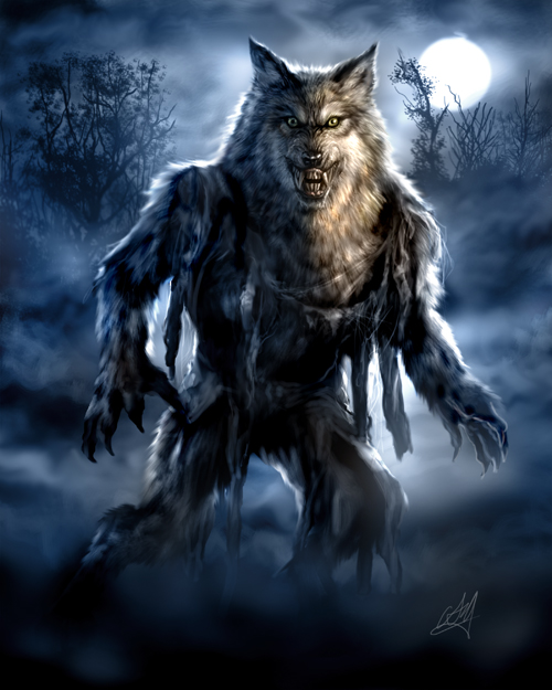 Wolf Man... by chrisscalf