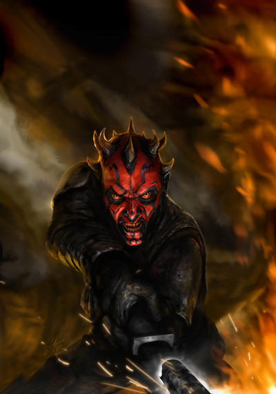 Darth Maul: Son of Dathomir 1 by chrisscalf