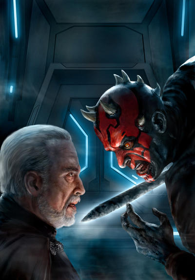 Darth Maul Son of Dathomir 3 by chrisscalf