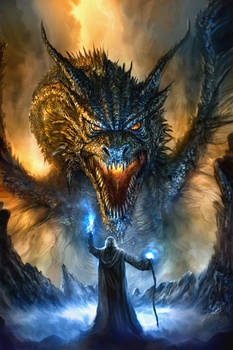 Revised Dragon Painting...