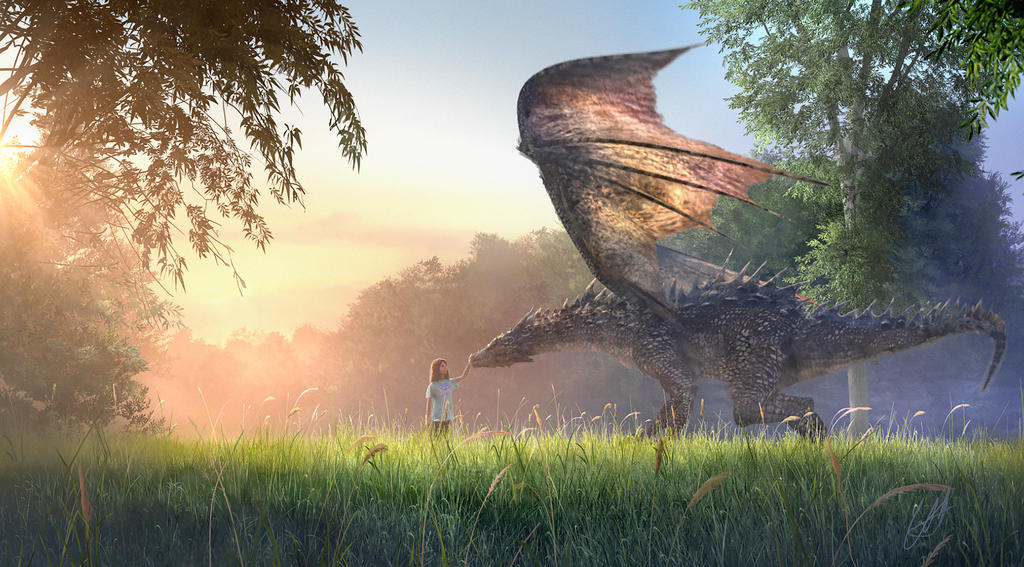 Dragon sunset by magicwolf5 on DeviantArt |Dragons And Sunsets