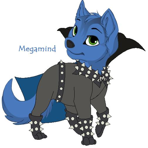 Megamind Wolf by sjsaberfan on DeviantArt