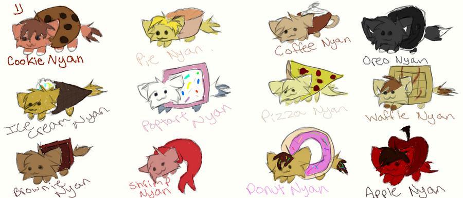 Nyan Cat And Waffle Cat Nyan Cat Adoptables by
