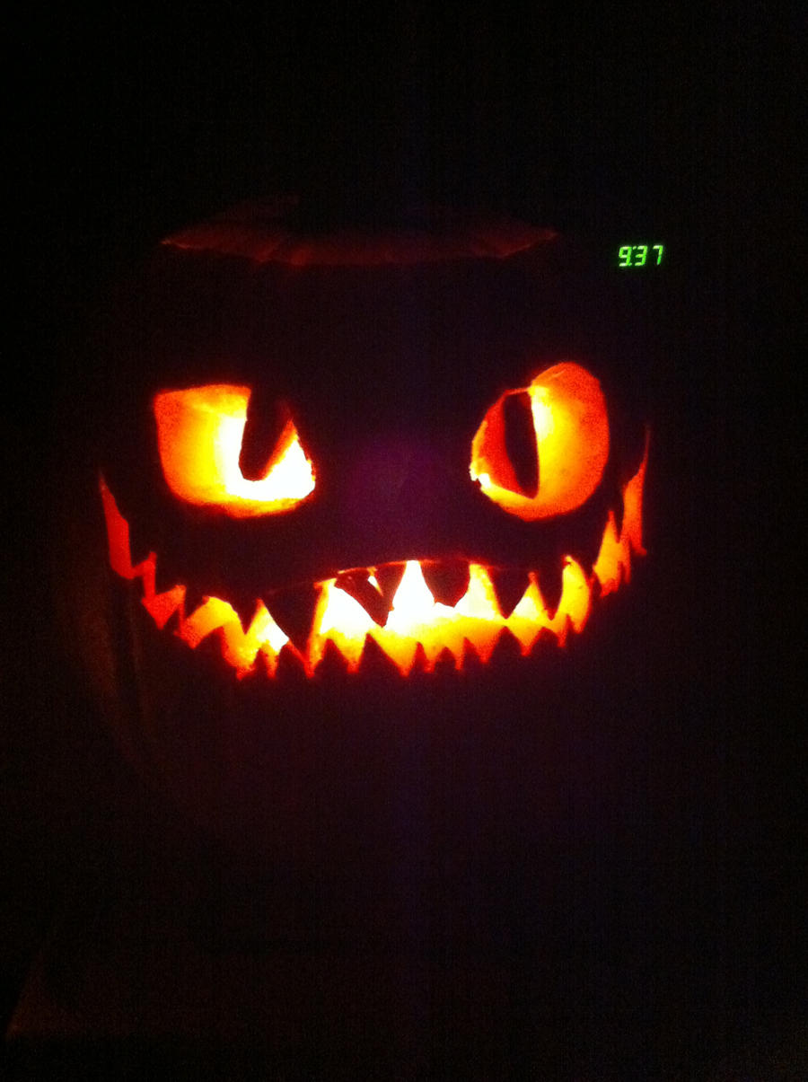 My toothless cheshire pumpkin by sjsaberfan on deviantart