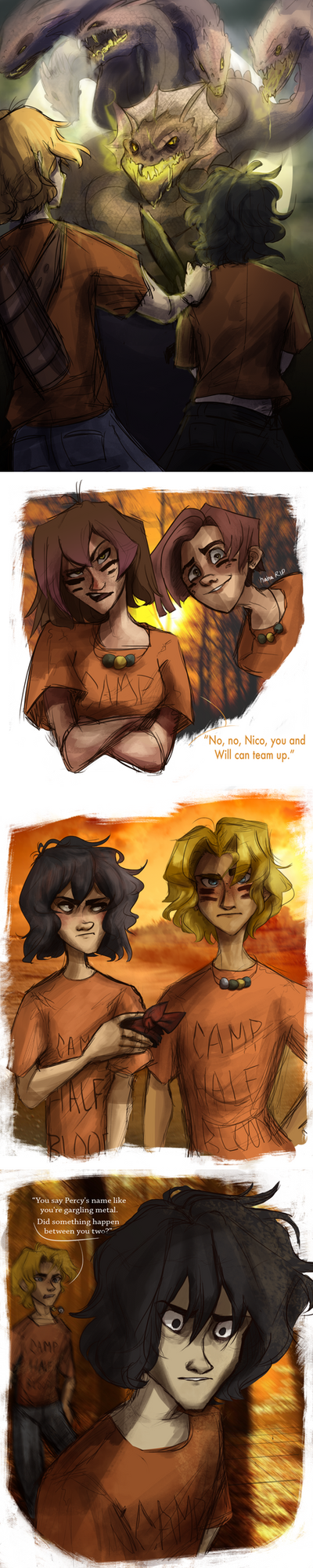 Reigniting the Oracle .:. Chapter Two by sjsaberfan