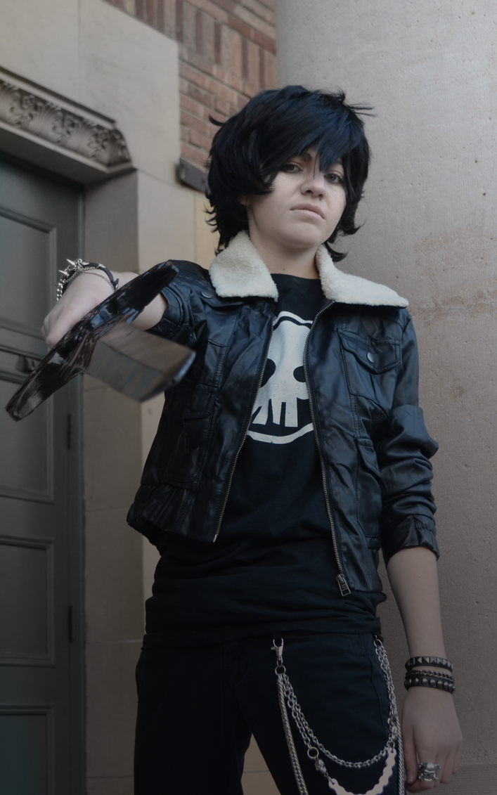 Nico di Angelo Cosplay .:. Wherever I May Roam by sjsaberfan