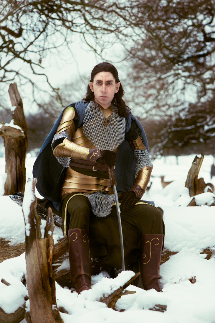 Lord of the Rings - Elrond Snow I by EnjaCosplay