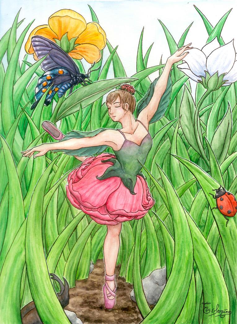 Flower Ballet by Eilerinn
