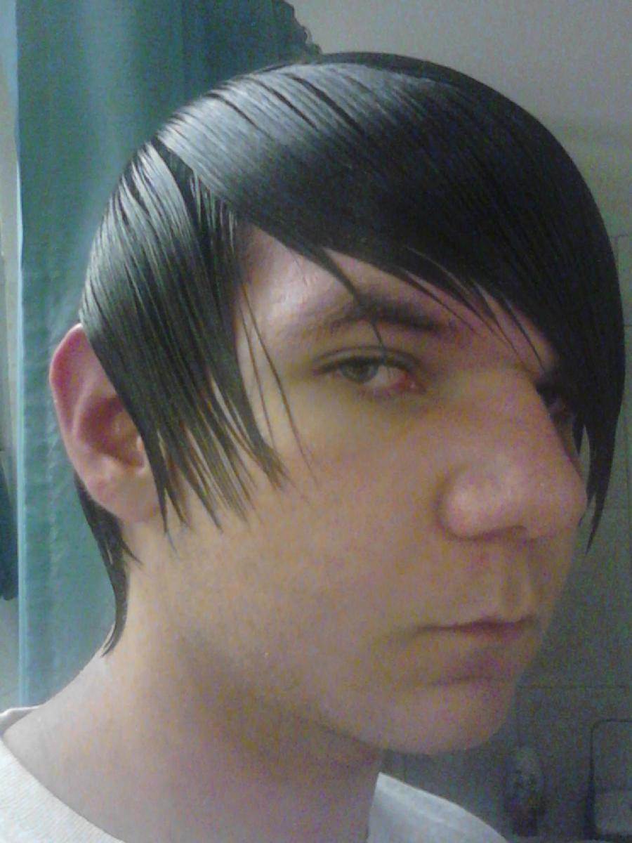 Straight hair perm guys - Straight Perm And Haircut By Lmdaboss Straight Perm And Haircut By Lmdaboss