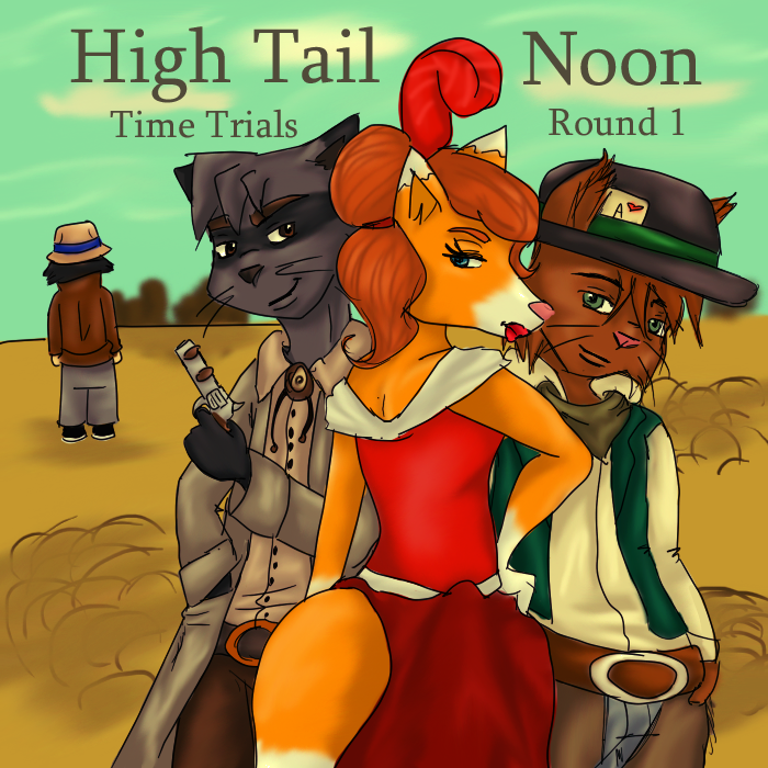 High Tail Noon- TT Round 1 by MousieDoodles