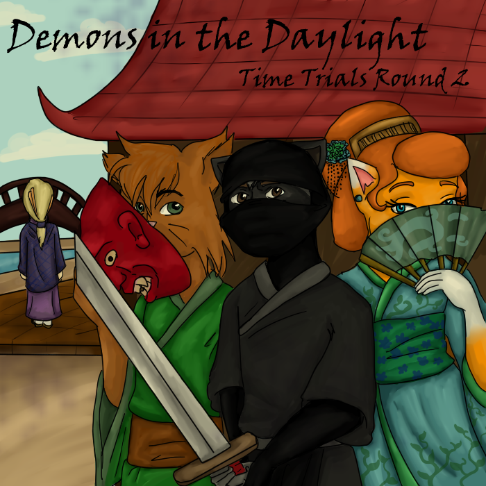 Demons in the Daylight- TT Round 2 by MousieDoodles