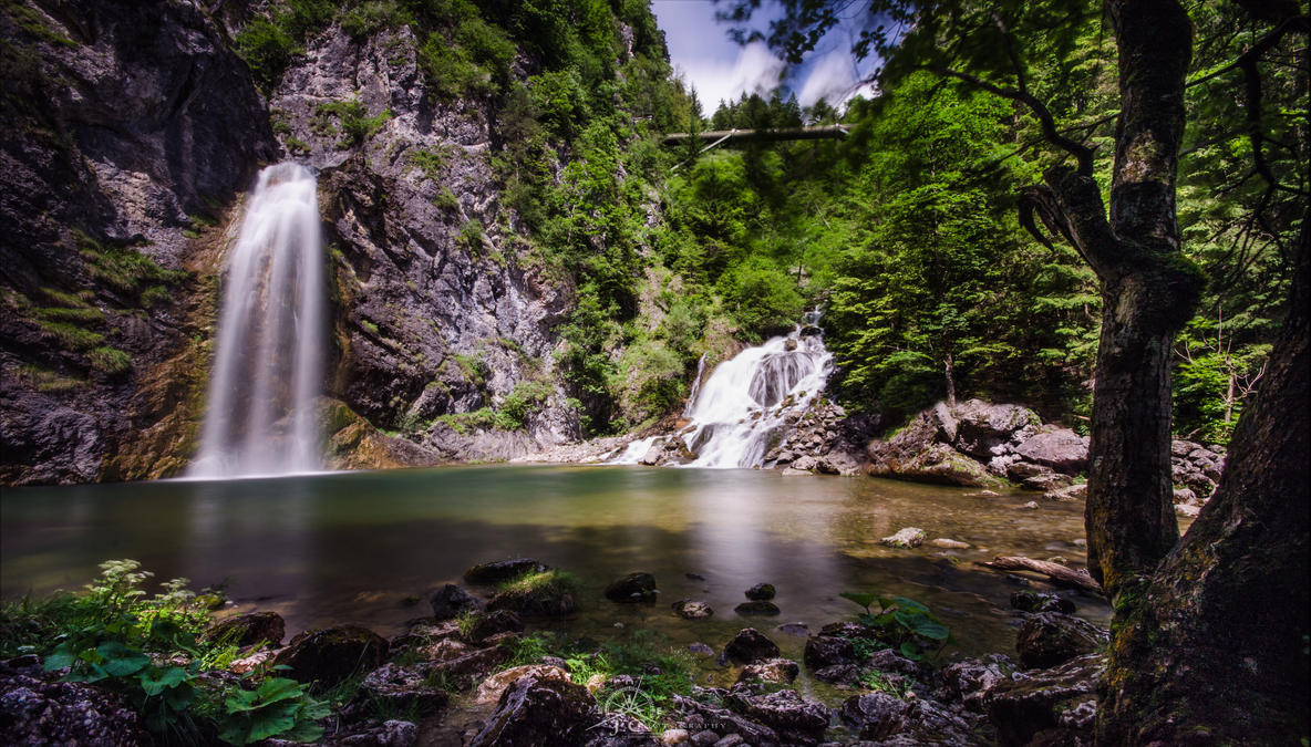 Salza Waterfall by Hauns