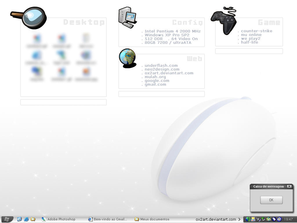:: My Desktop - Config Wall by ox2art