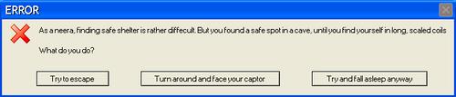 Error Message VRP2 by DragonDrawer14