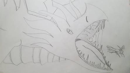 The crested garden dragon