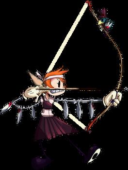 Miitopia Team - 14th Member Peacock as the Elf