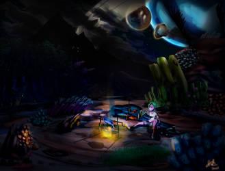 Kokopelli Cottonwoods Concept (Night)