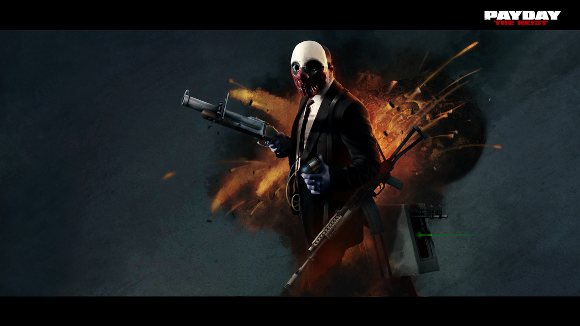 payday the heist wallpaper hd