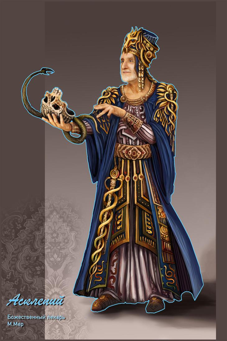 Asclepiy by marimerabi
