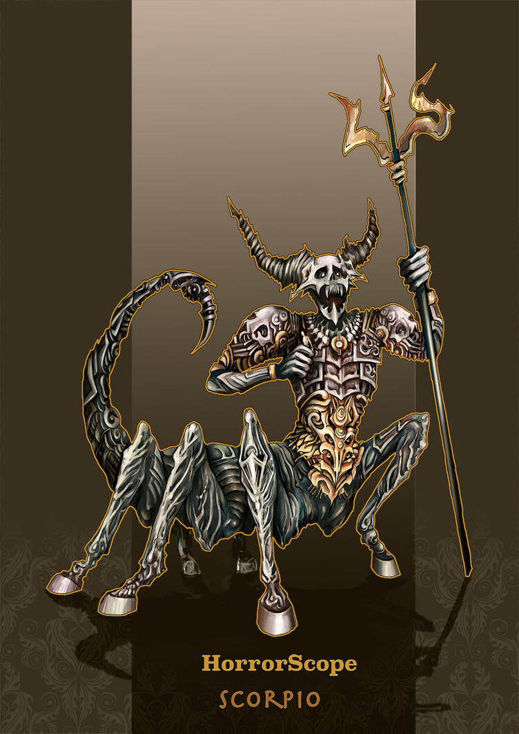 Scorpio. HorrorScope by marimerabi