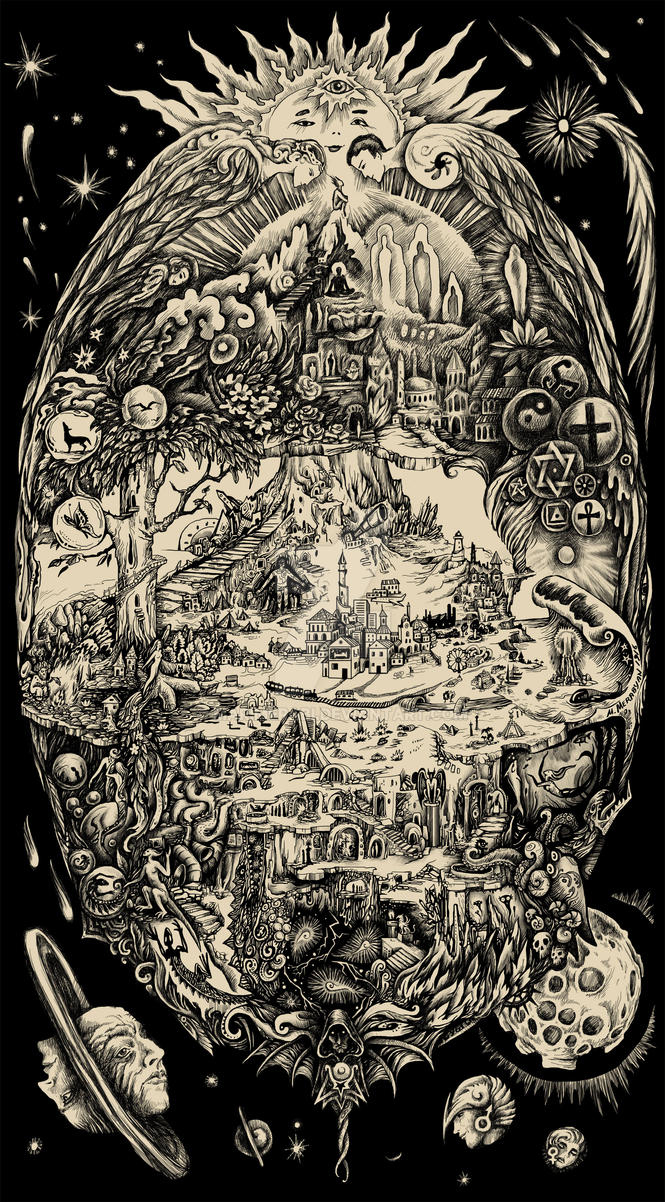 Dreamland Map by marimerabi