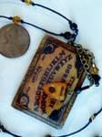 miniature Ouija Board Necklace