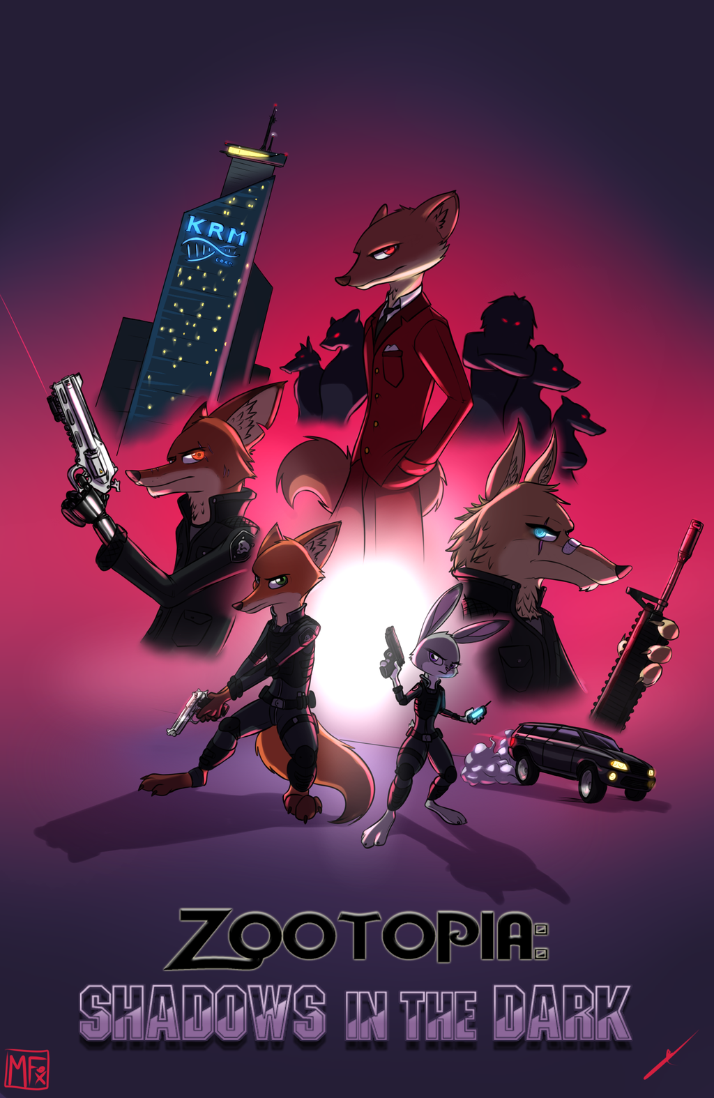 Story: Zootopia: Shadows in the Dark