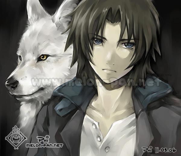 Mangas divers - Page 3 Wolf__s_Rain___Kiba_by_c2lan