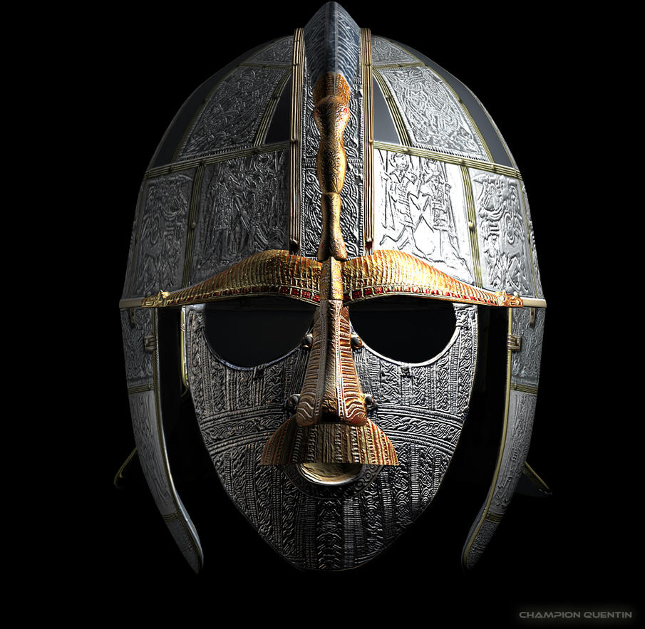 Sutton Hoo Helmet 3d Render By Mrsvein872 On Deviantart