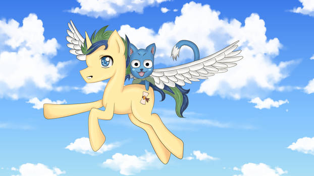 Fairy Tail and MLP Crossover