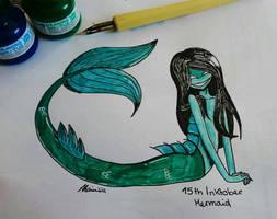 Creepy Mermaid - 15th Inktober