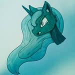 Ink out of october - Princess Luna