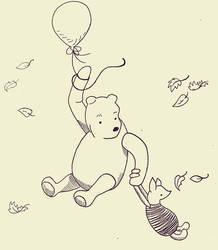 Winnie Pooh ~ Inktober 2020
