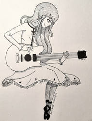 Carole and Tuesday ~ Inktober 2020