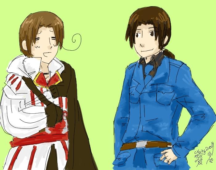 Assassin's VEEEEEEEEE by KunoichiRaiu