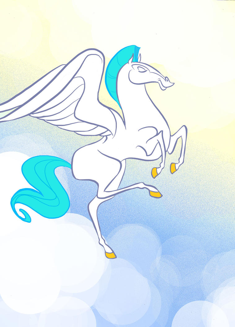 Pegasus From Hercules