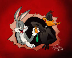 Bugs and Daffy Show
