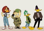 Commission: Duck Dodgers reboot