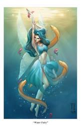 Water Fairy by DenaeFrazierStudios